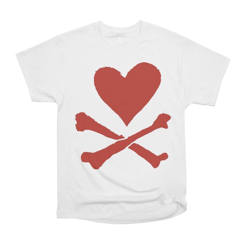 Dangerous Heart Women's Heavyweight Unisex T-Shirt by navjinderism's Artist Shop