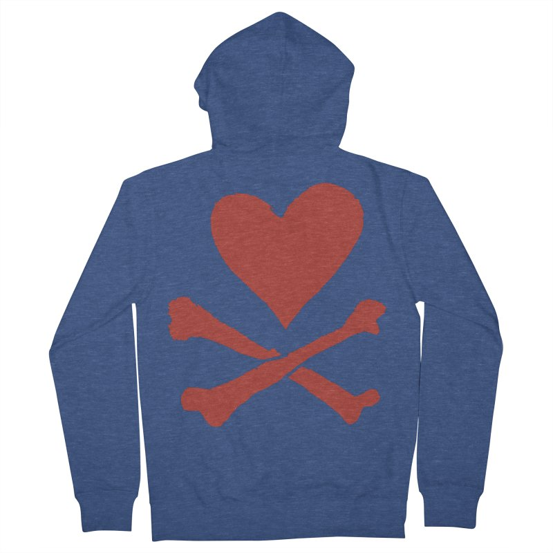 Dangerous Heart Women's Zip-Up Hoody by navjinderism's Artist Shop