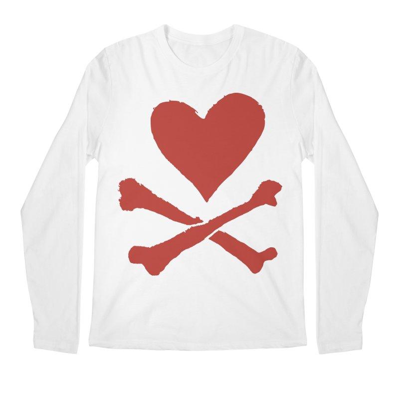 Dangerous Heart Men's Regular Longsleeve T-Shirt by navjinderism's Artist Shop