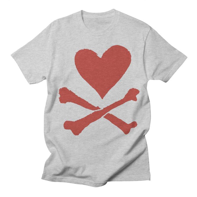 Dangerous Heart Men's Regular T-Shirt by navjinderism's Artist Shop