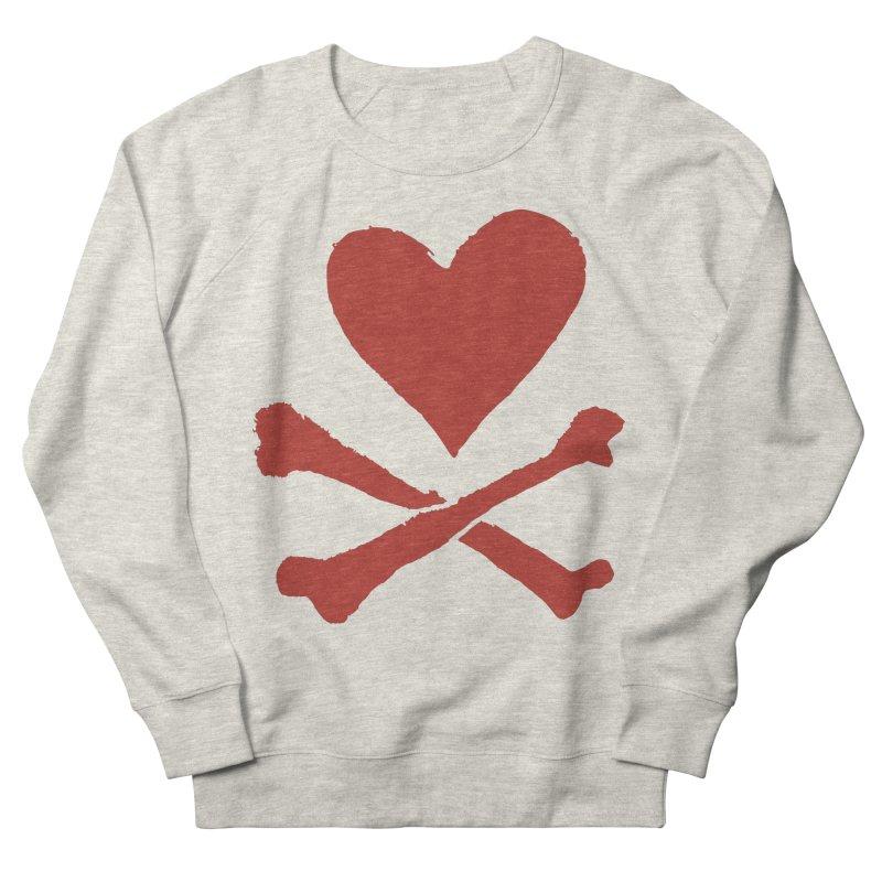 Dangerous Heart Women's French Terry Sweatshirt by navjinderism's Artist Shop