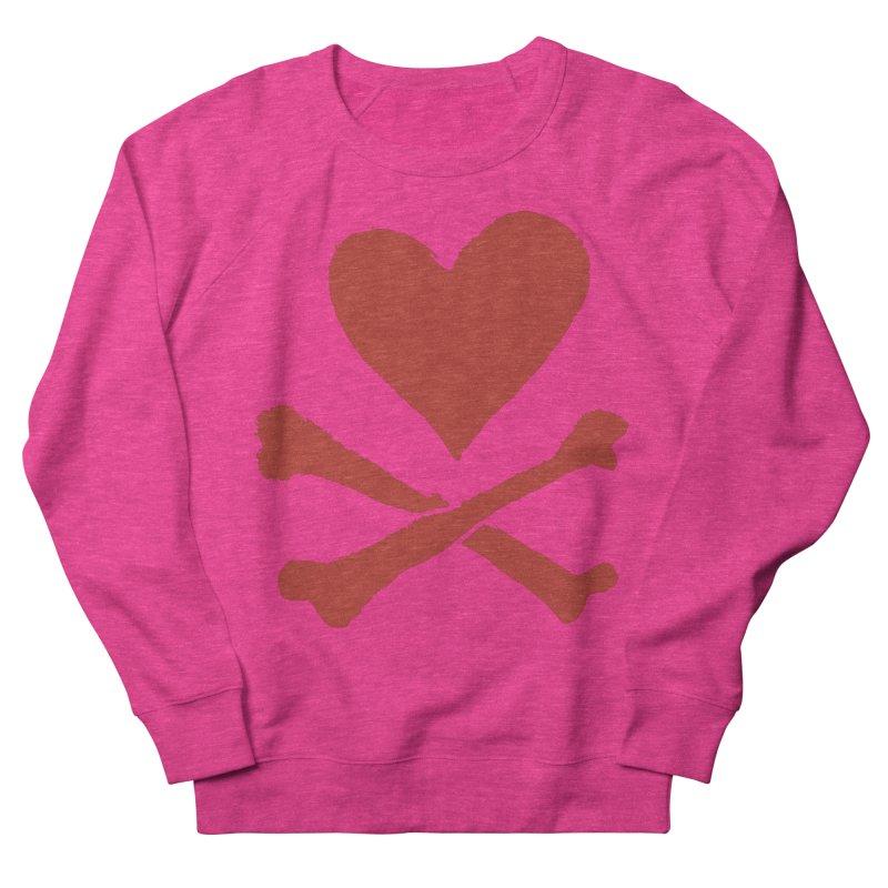 Dangerous Heart Men's French Terry Sweatshirt by navjinderism's Artist Shop