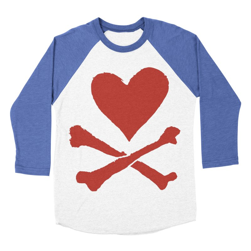 Dangerous Heart Women's Baseball Triblend Longsleeve T-Shirt by navjinderism's Artist Shop