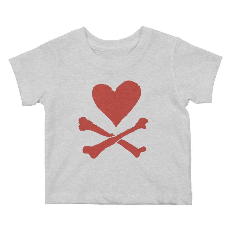 Dangerous Heart Kids Baby T-Shirt by navjinderism's Artist Shop