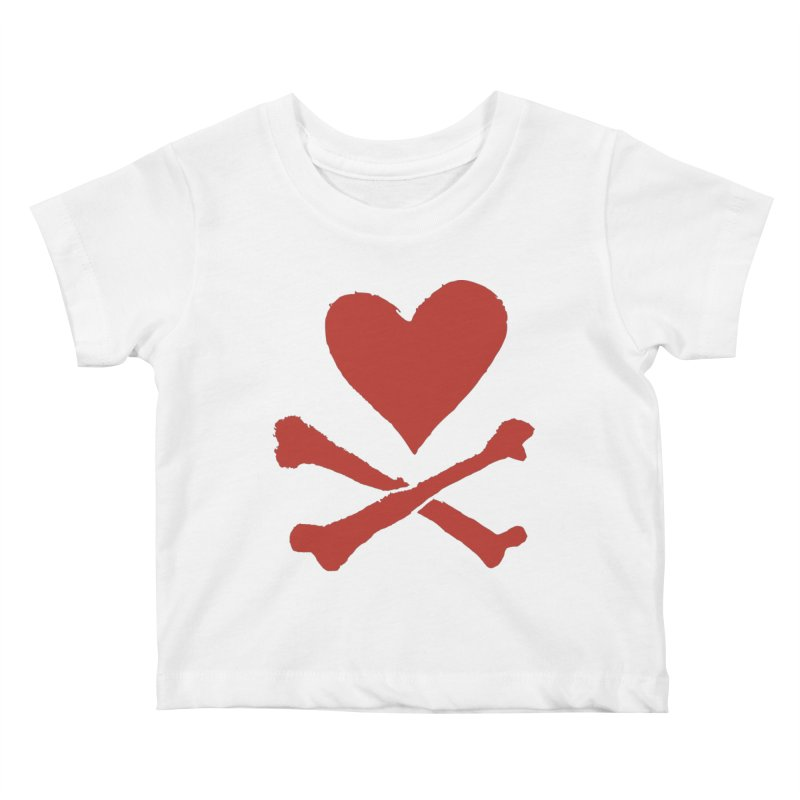 Dangerous Heart Kids Baby T-Shirt by navjinderism's Artist Shop