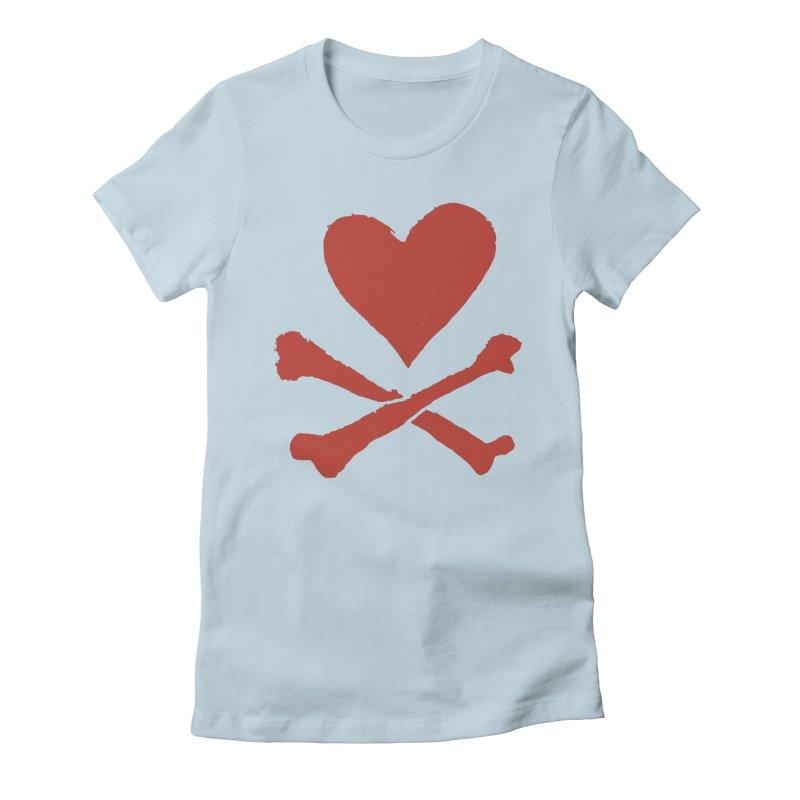 Dangerous Heart Women's T-Shirt by navjinderism's Artist Shop