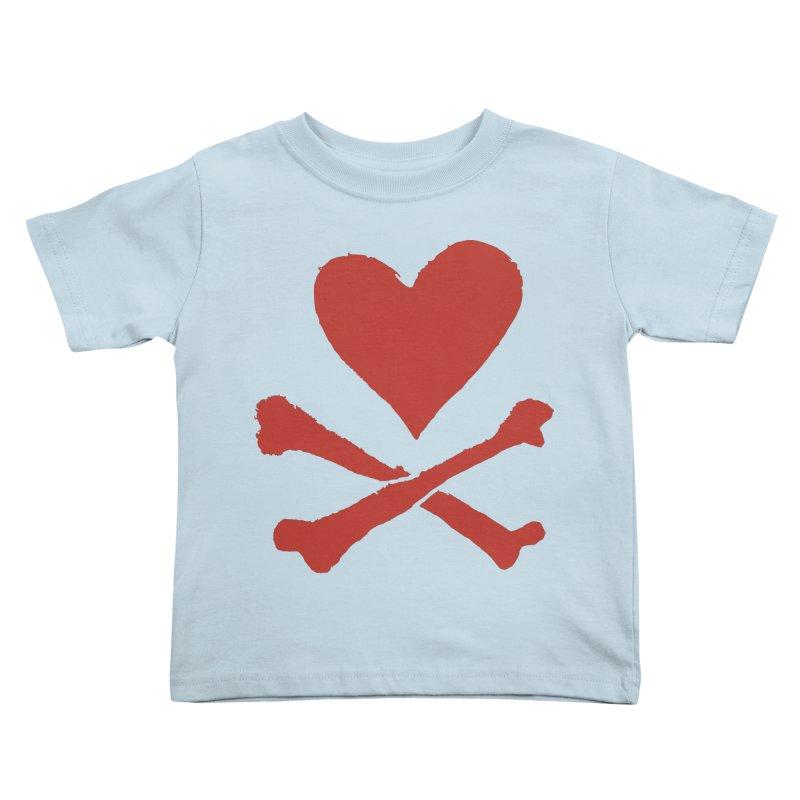 Dangerous Heart Kids Toddler T-Shirt by navjinderism's Artist Shop