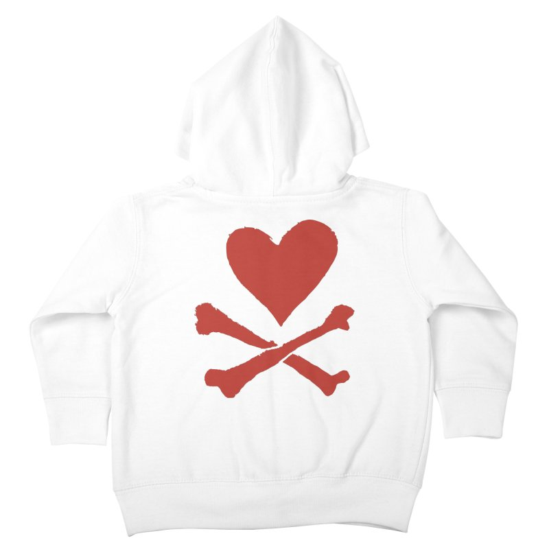 Dangerous Heart Kids Toddler Zip-Up Hoody by navjinderism's Artist Shop