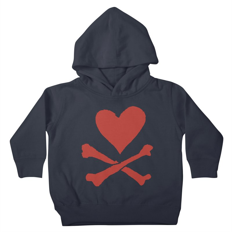 Dangerous Heart Kids Toddler Pullover Hoody by navjinderism's Artist Shop