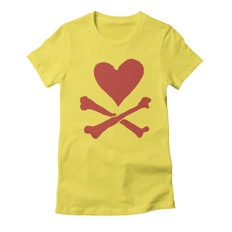 Dangerous Heart Women's T-Shirt by navjinderism's Artist Shop