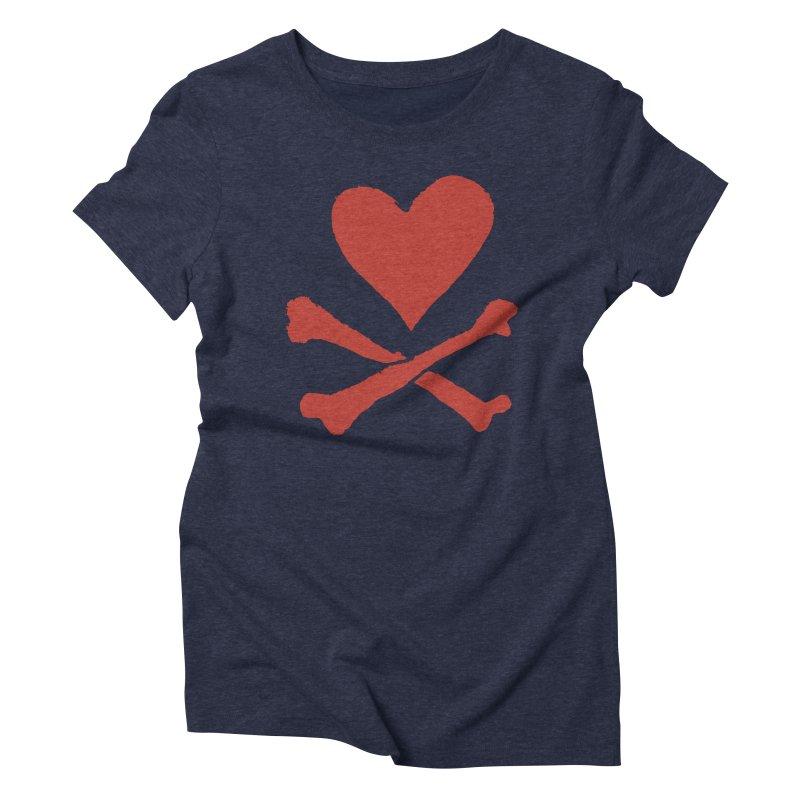 Dangerous Heart Women's Triblend T-Shirt by navjinderism's Artist Shop