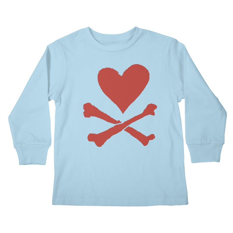 Dangerous Heart Kids Longsleeve T-Shirt by navjinderism's Artist Shop