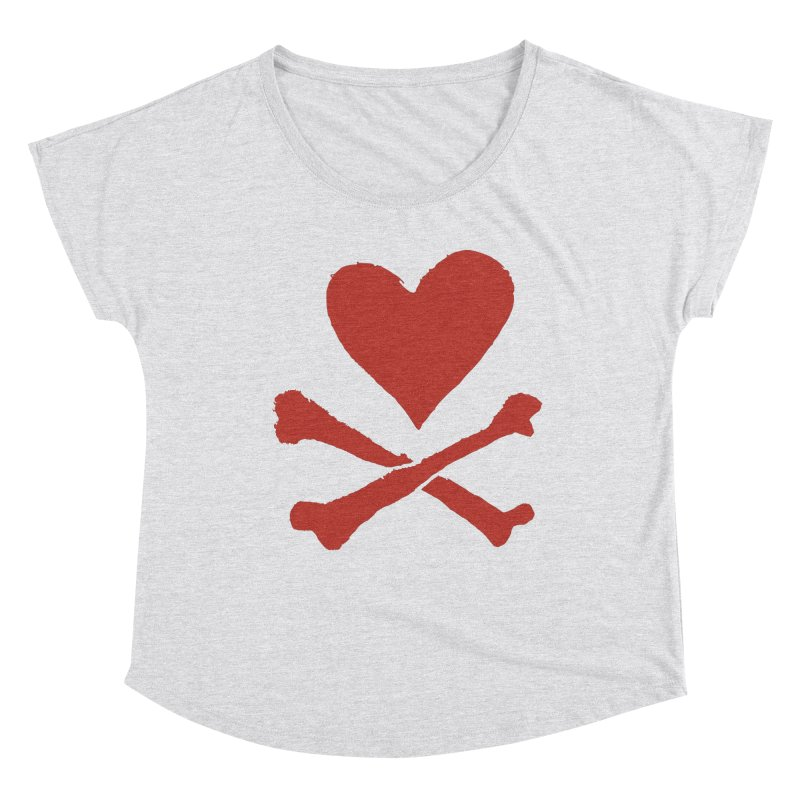 Dangerous Heart Women's Scoop Neck by navjinderism's Artist Shop