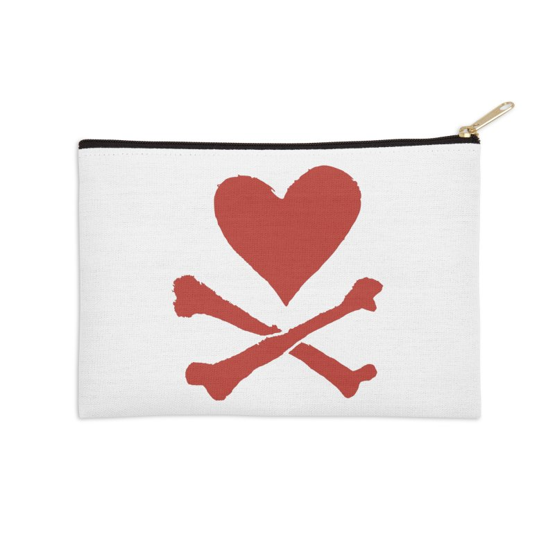 Dangerous Heart Accessories Zip Pouch by navjinderism's Artist Shop