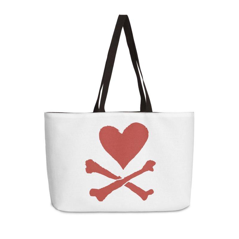 Dangerous Heart Accessories Weekender Bag Bag by navjinderism's Artist Shop