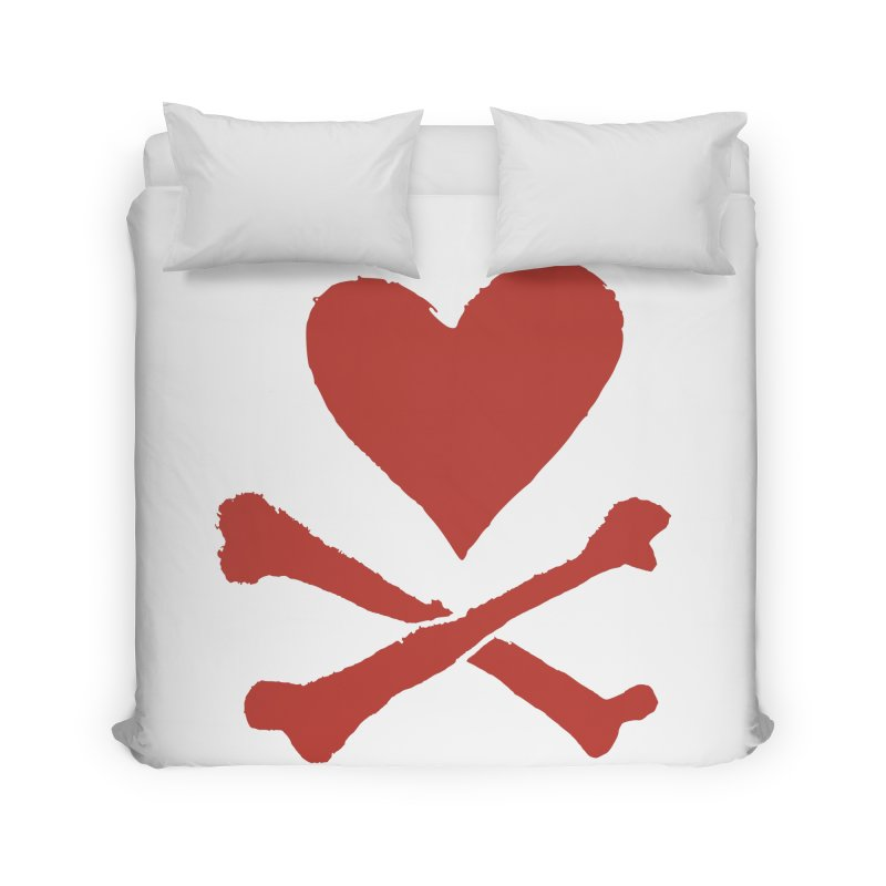 Dangerous Heart Home Duvet by navjinderism's Artist Shop