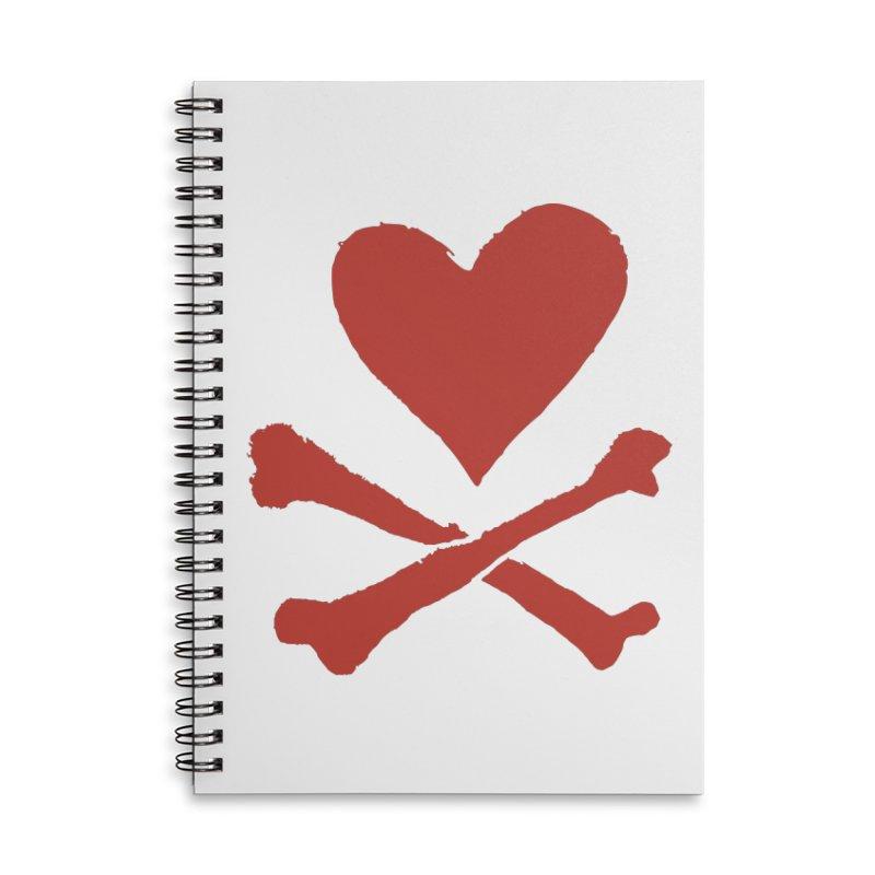 Dangerous Heart Accessories Lined Spiral Notebook by navjinderism's Artist Shop