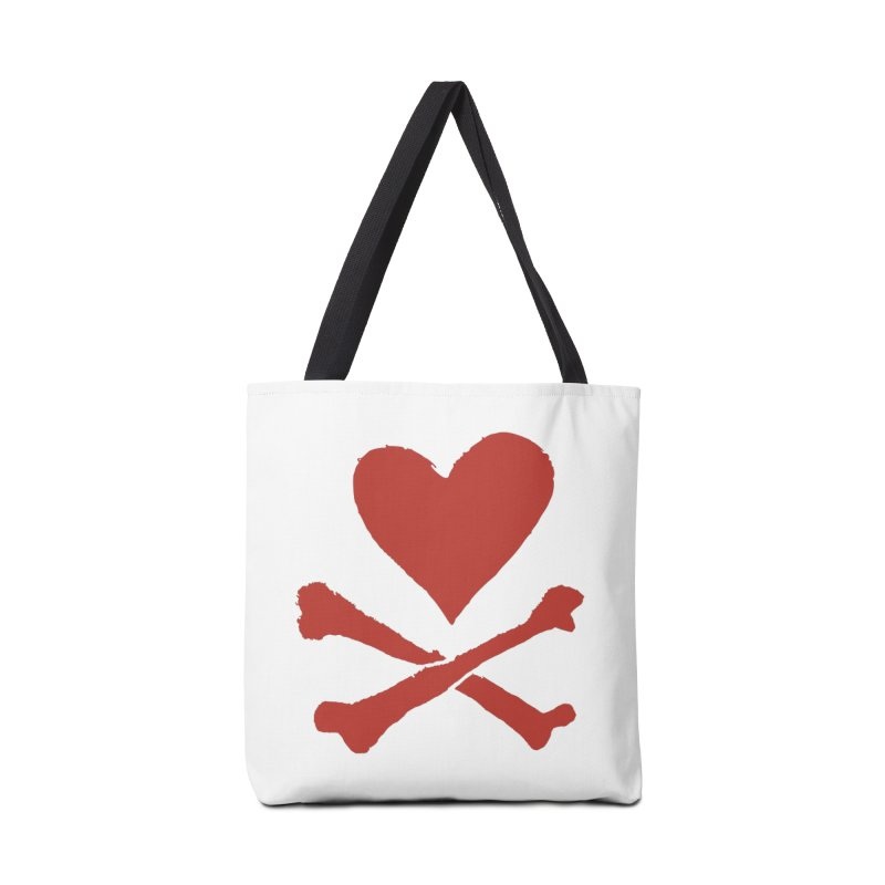 Dangerous Heart Accessories Tote Bag Bag by navjinderism's Artist Shop