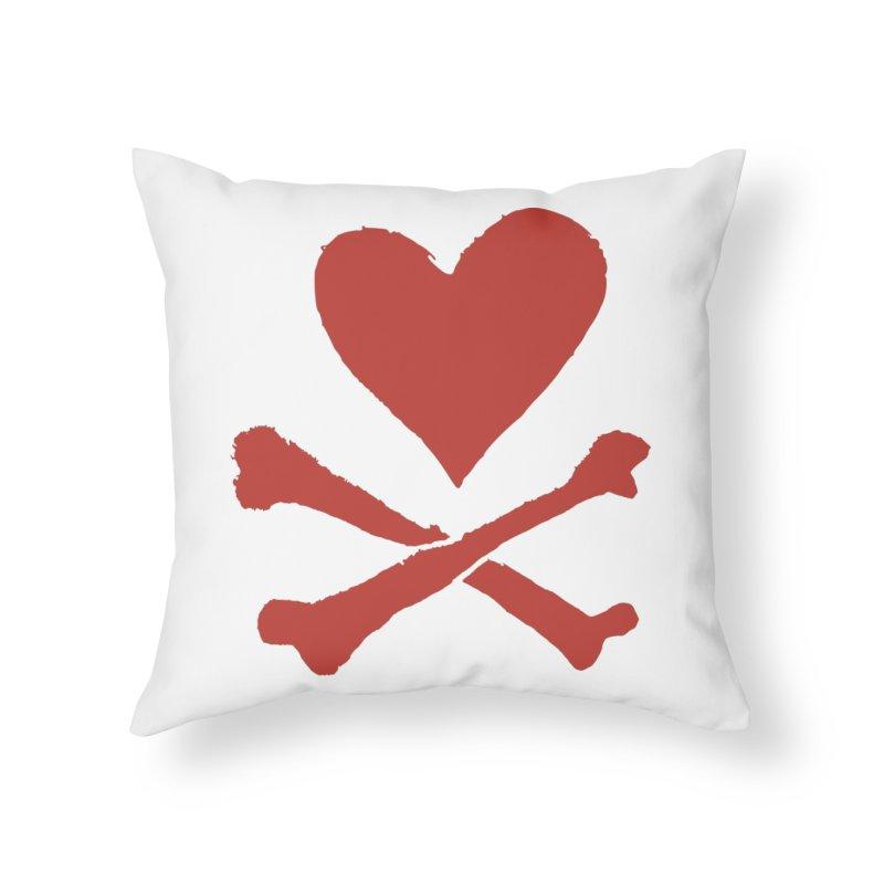 Dangerous Heart Home Throw Pillow by navjinderism's Artist Shop