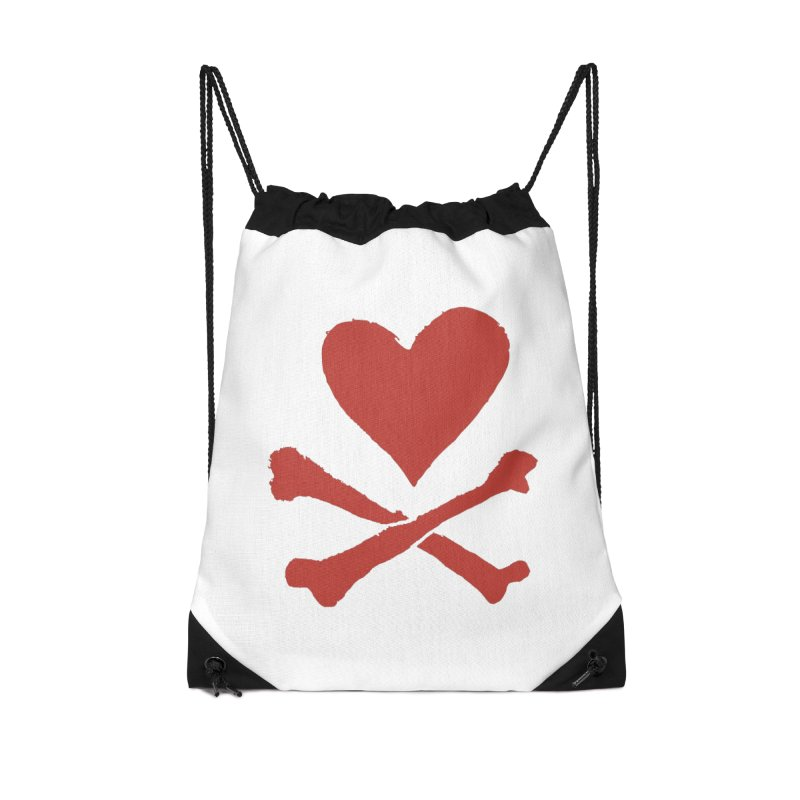 Dangerous Heart Accessories Drawstring Bag Bag by navjinderism's Artist Shop
