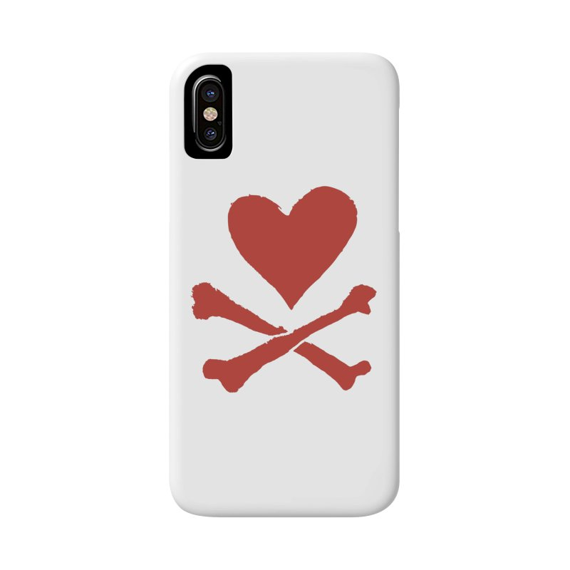 Dangerous Heart Accessories Phone Case by navjinderism's Artist Shop