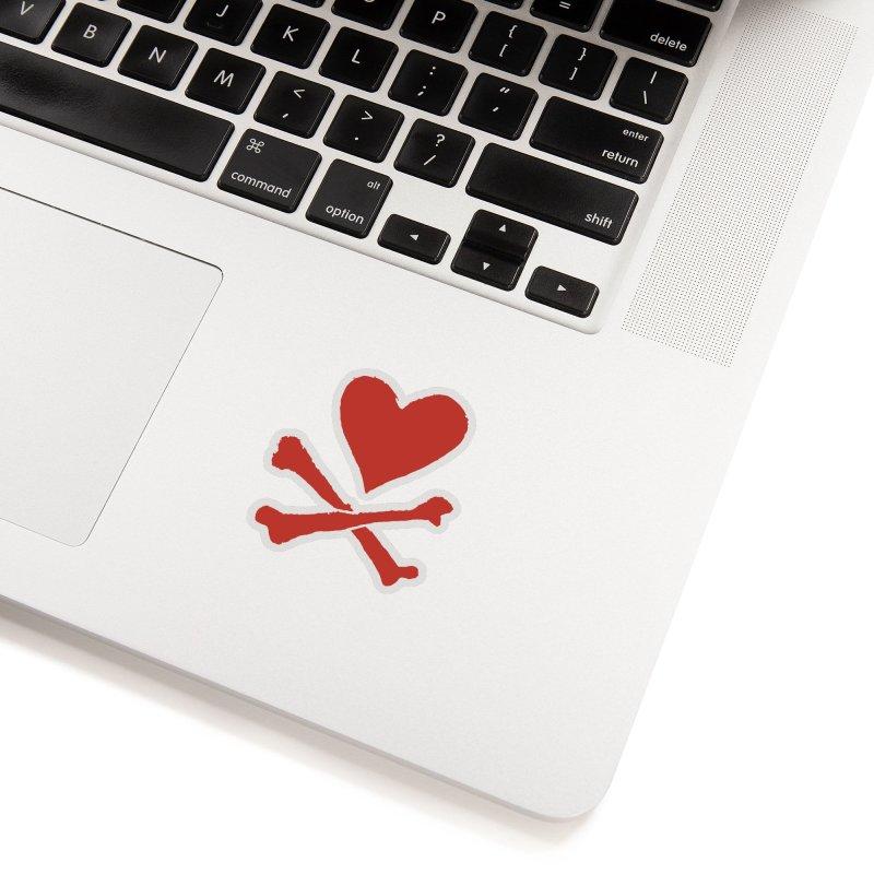 Dangerous Heart Accessories Sticker by navjinderism's Artist Shop