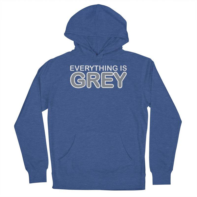 Everything is Grey Men's Pullover Hoody by navjinderism's Artist Shop