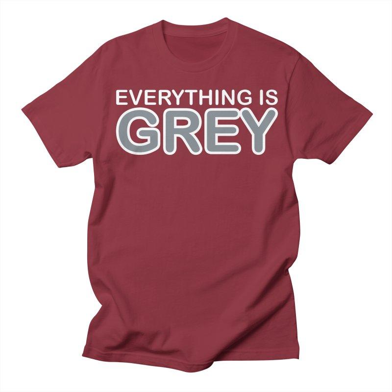 Everything is Grey Women's Regular Unisex T-Shirt by navjinderism's Artist Shop