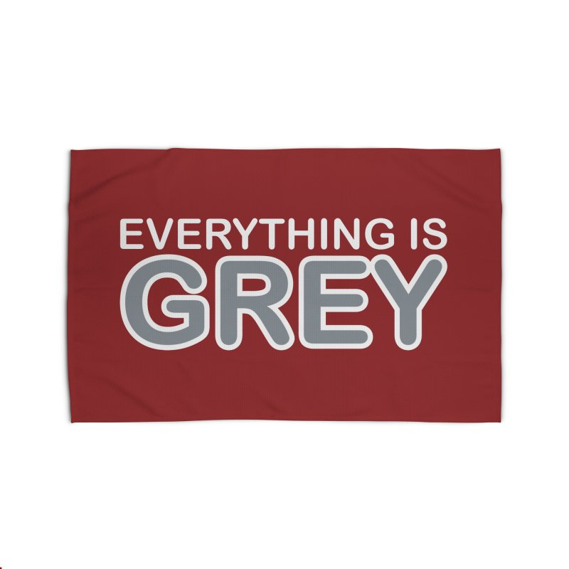 Everything is Grey Home Rug by navjinderism's Artist Shop