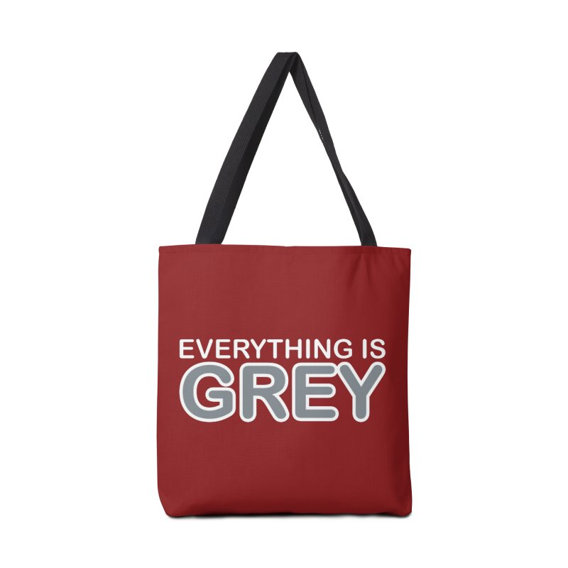 Everything is Grey Accessories Tote Bag Bag by navjinderism's Artist Shop