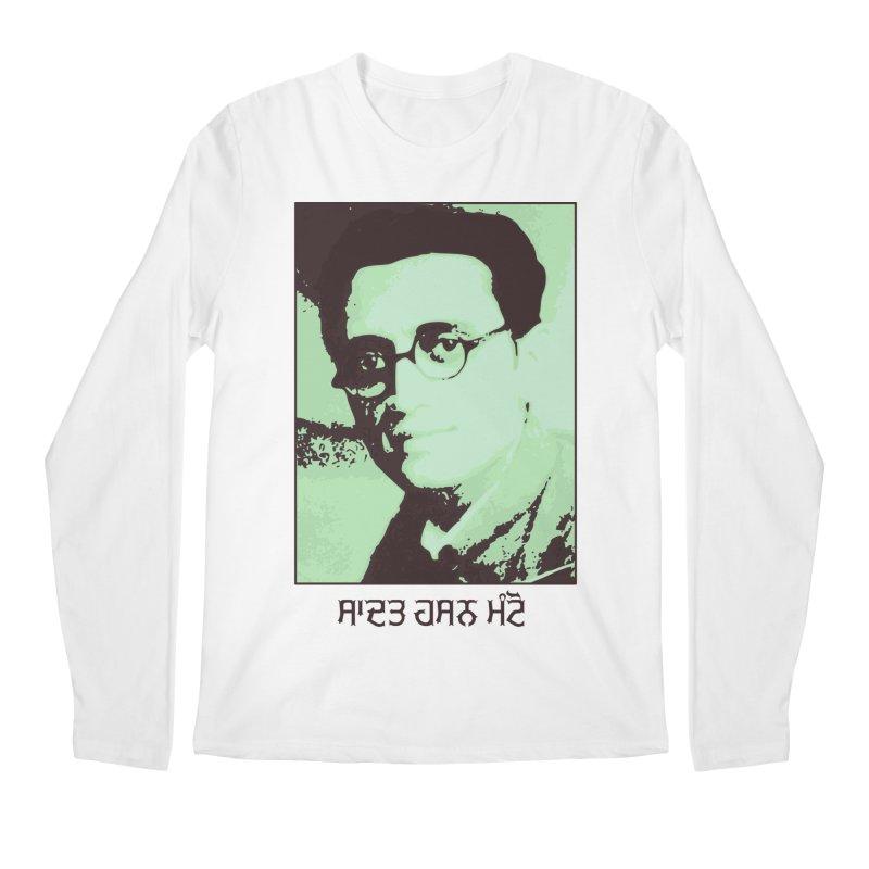 Manto Men's Regular Longsleeve T-Shirt by navjinderism's Artist Shop