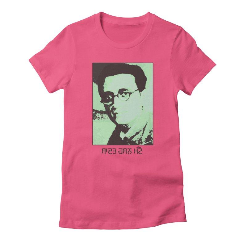Manto Women's T-Shirt by navjinderism's Artist Shop
