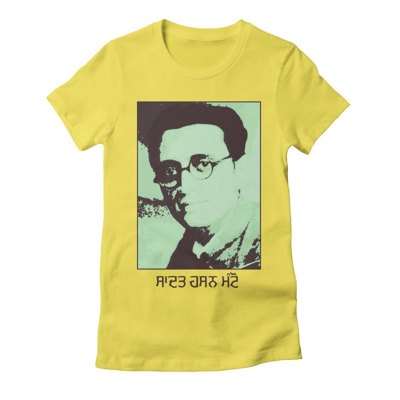 Manto Women's T-Shirt by navjinderism's Artist Shop