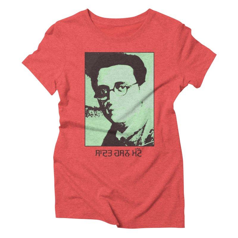 Manto Women's Triblend T-Shirt by navjinderism's Artist Shop