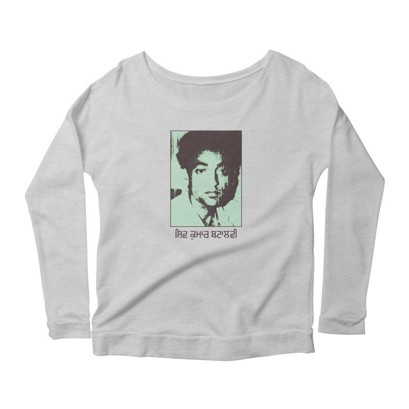 Batalvi Women's Scoop Neck Longsleeve T-Shirt by navjinderism's Artist Shop