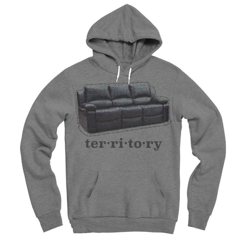 Territory Men's Sponge Fleece Pullover Hoody by navjinderism's Artist Shop