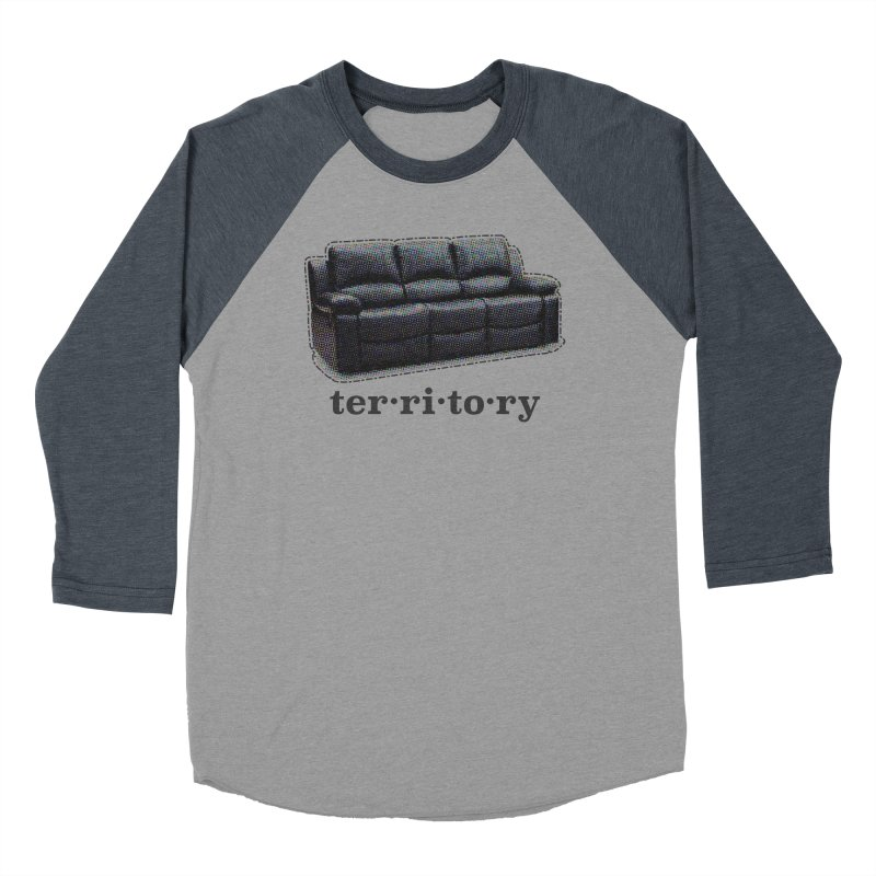 Territory Women's Baseball Triblend Longsleeve T-Shirt by navjinderism's Artist Shop