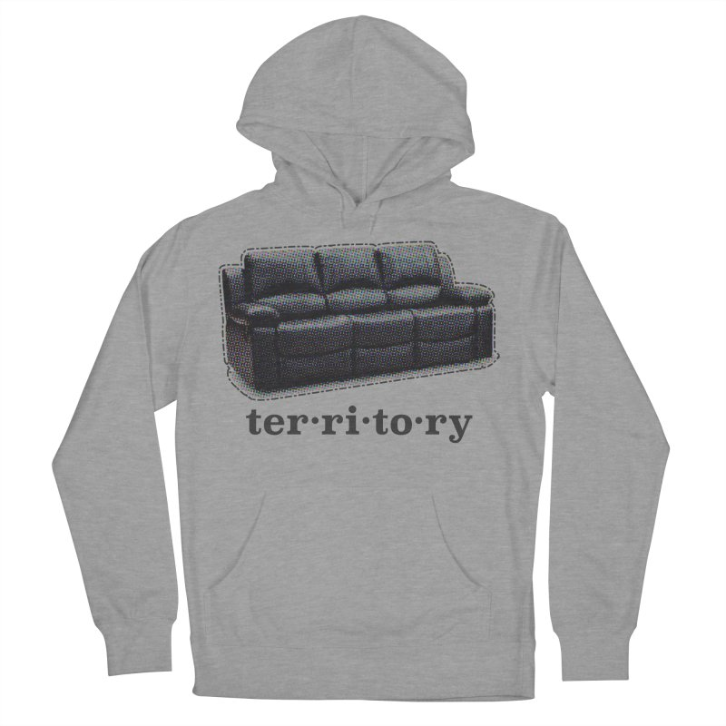 Territory Men's French Terry Pullover Hoody by navjinderism's Artist Shop