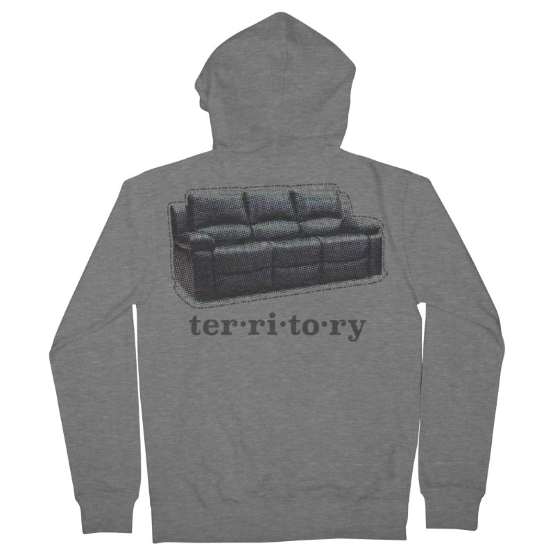 Territory Men's French Terry Zip-Up Hoody by navjinderism's Artist Shop
