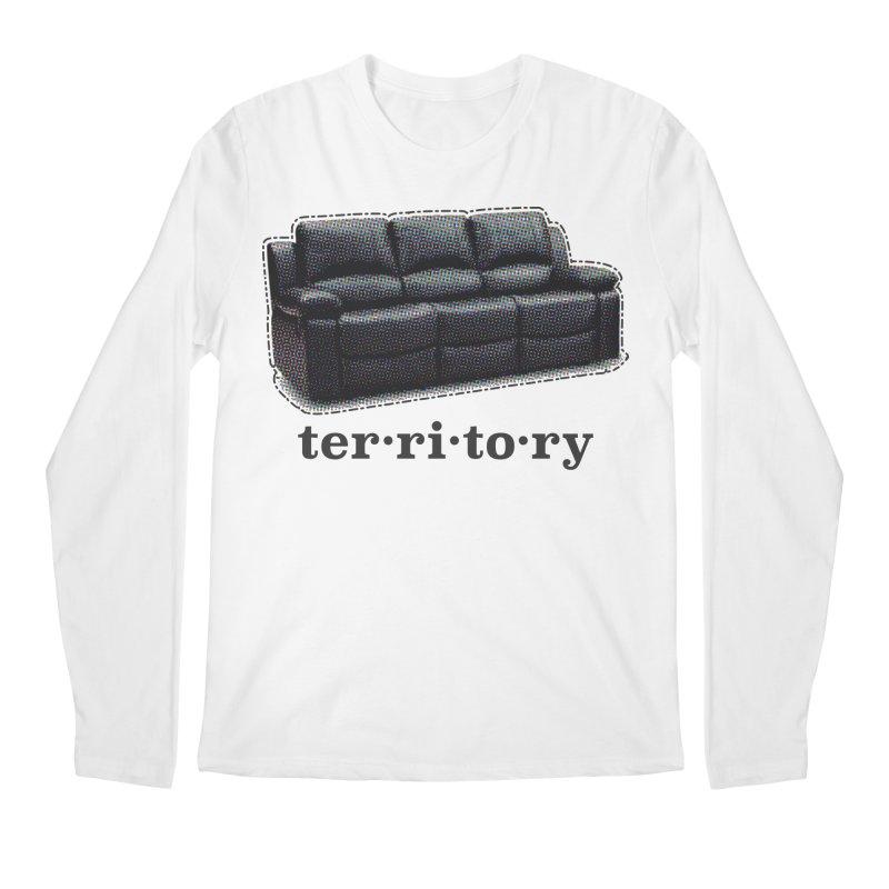 Territory Men's Regular Longsleeve T-Shirt by navjinderism's Artist Shop