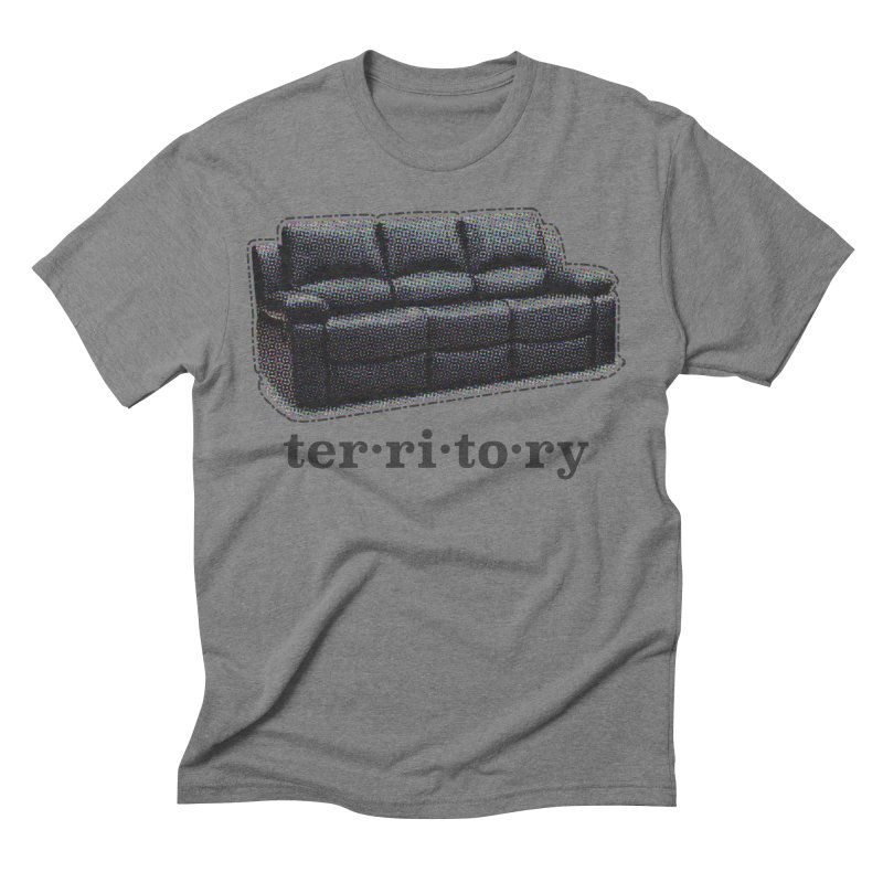 Territory Men's Triblend T-Shirt by navjinderism's Artist Shop