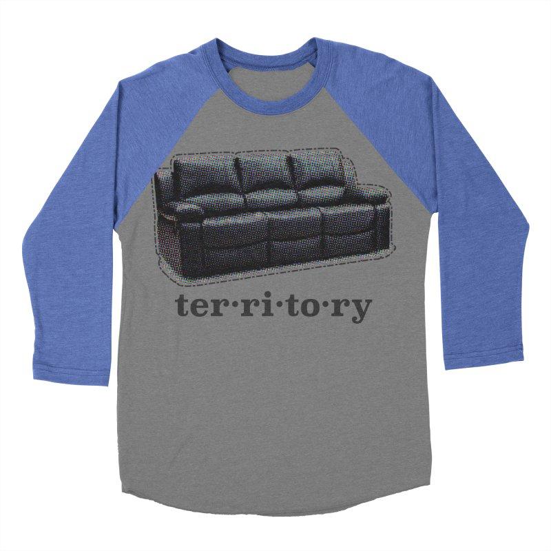 Territory Men's Baseball Triblend Longsleeve T-Shirt by navjinderism's Artist Shop