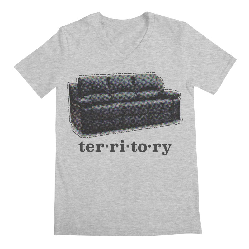 Territory Men's Regular V-Neck by navjinderism's Artist Shop
