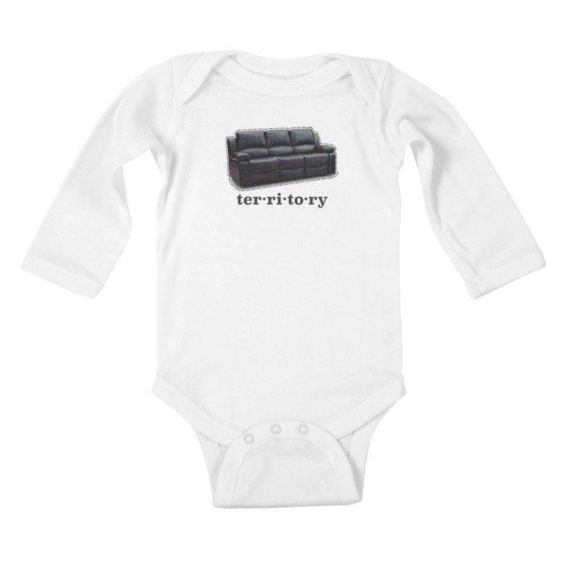 Territory Kids Baby Longsleeve Bodysuit by navjinderism's Artist Shop