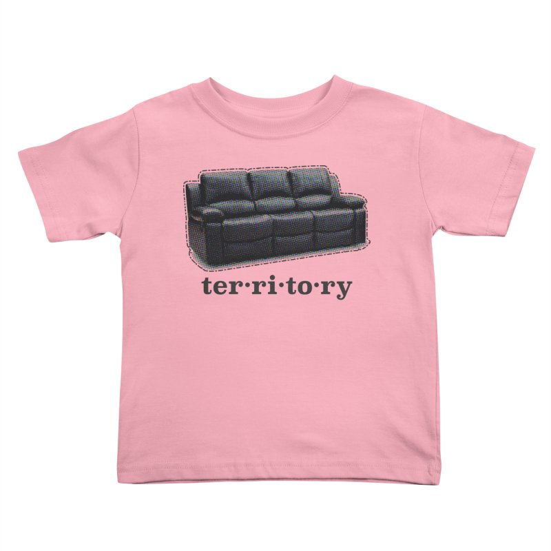 Territory Kids Toddler T-Shirt by navjinderism's Artist Shop