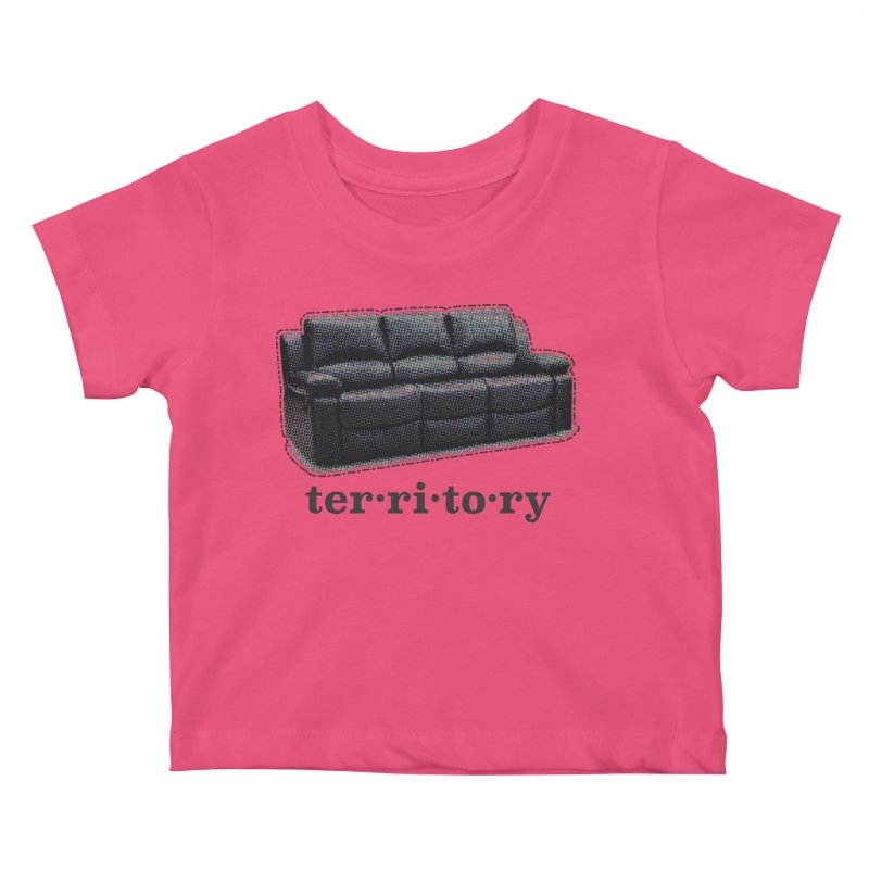 Territory Kids Baby T-Shirt by navjinderism's Artist Shop
