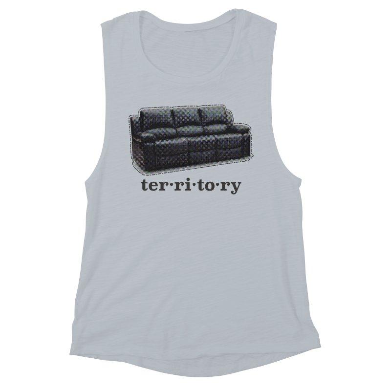 Territory Women's Muscle Tank by navjinderism's Artist Shop