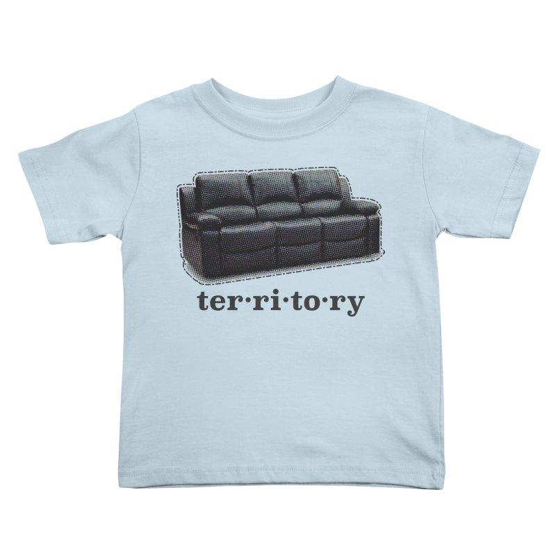 Territory Kids Toddler T-Shirt by navjinderism's Artist Shop