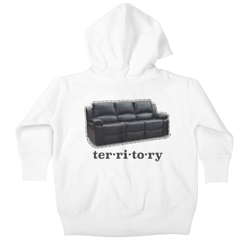 Territory Kids Baby Zip-Up Hoody by navjinderism's Artist Shop