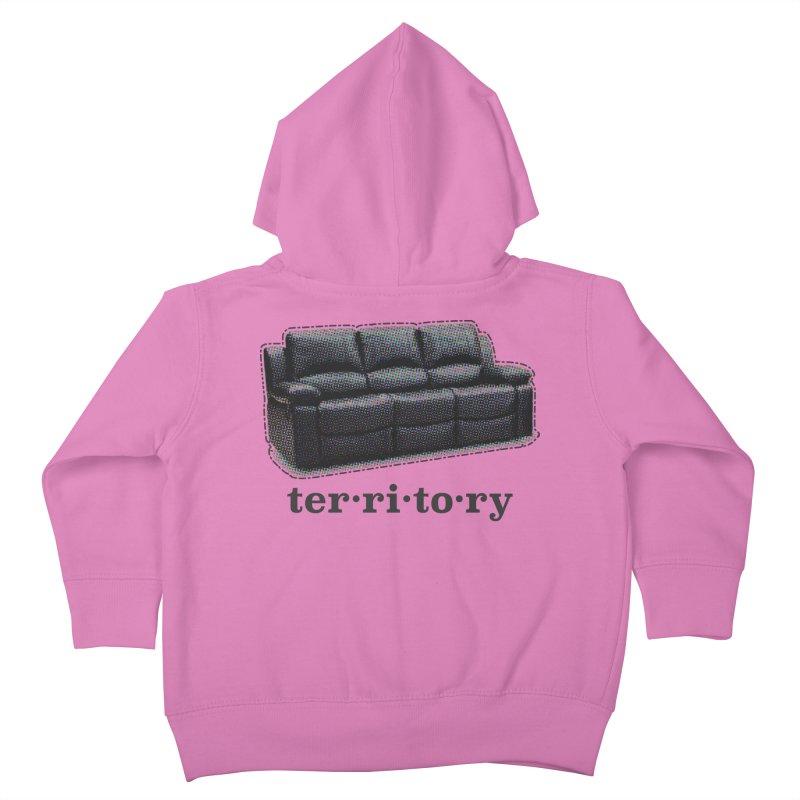 Territory Kids Toddler Zip-Up Hoody by navjinderism's Artist Shop